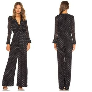Alexis Shona Knot Front Jumpsuit in Rio Print Med